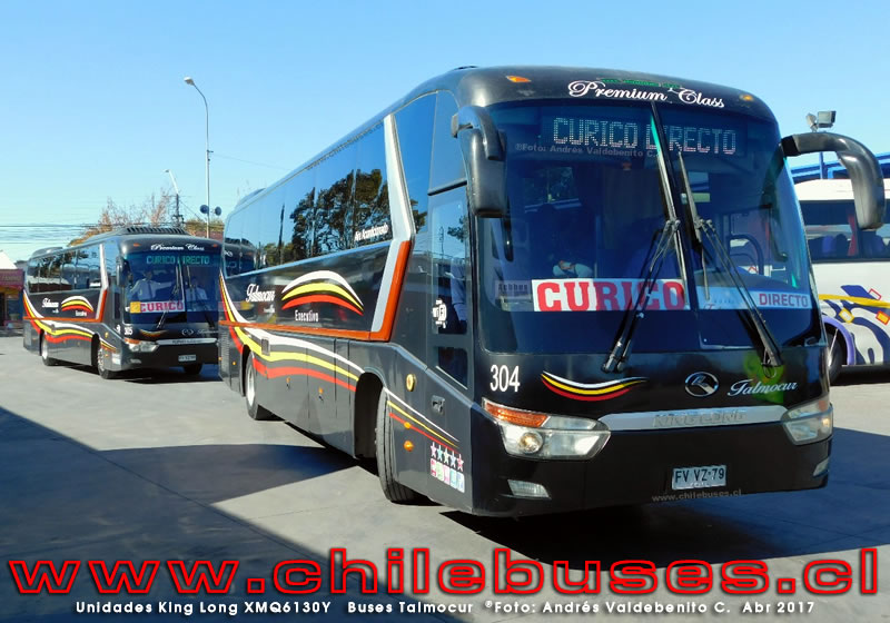 Unidades King Long XMQ6130Y | Buses Talmocur