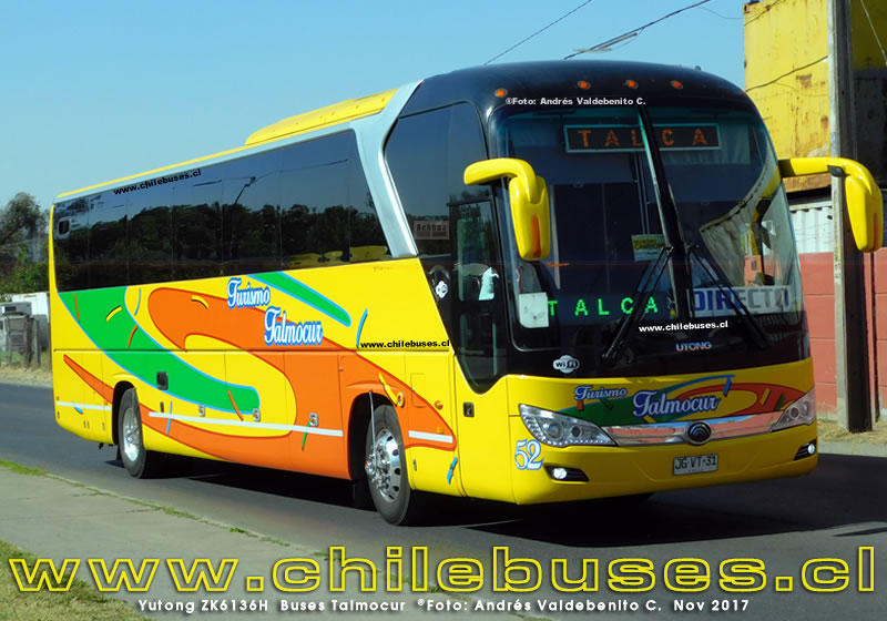 Yutong ZK6136H | Buses Talmocur