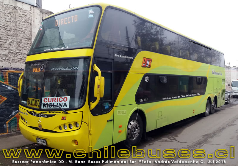 Busscar Panoramico DD - Scania | Buses Pullman del Sur