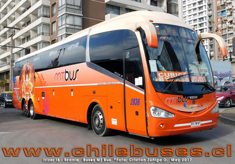 Irizar I6 - Scania | Buses MT Bus