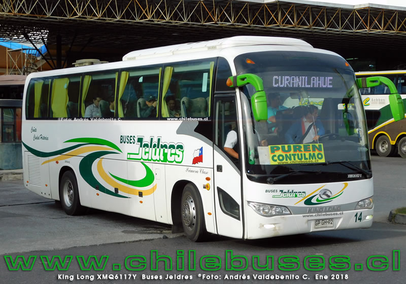 King Long XMQ6117Y | Buses Jeldres