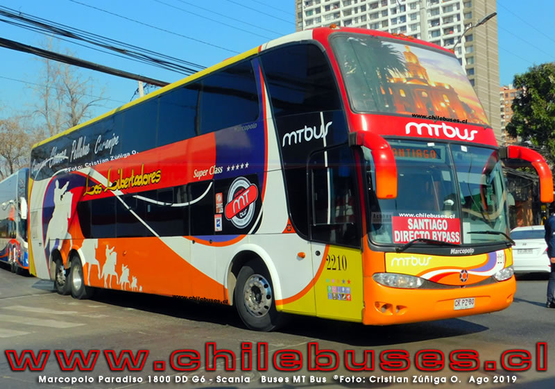 Marcopolo Paradiso 1800 DD G6 - Scania  |  Buses MT Bus