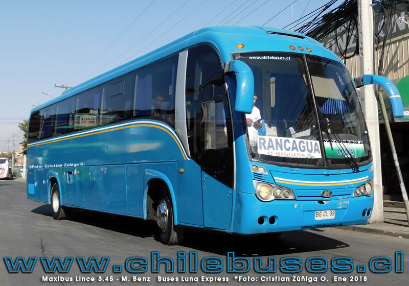 Maxibus Lince 3.45 - M. Benz | Buses Luna Express