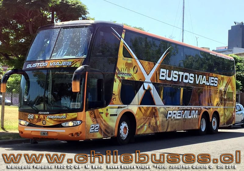 Marcopolo Paradiso 1800 DD G6 - M. Benz | Buses Bustos Viajes (Argentina)