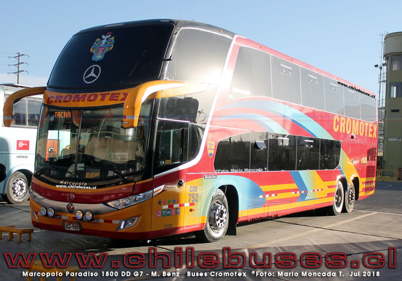 Marcopolo Paradiso 1800 DD G7 - M. Benz | Buses Cromotex (Perú)