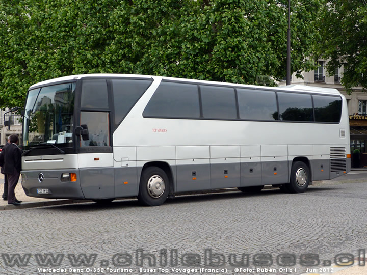 Mercedes Benz O-350 Tourismo | Buses Top Voyages (Francia)