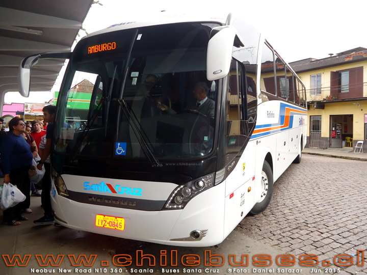 Neobus New Road 360 N10 - Scania | Buses Santa Cruz (Brasil)
