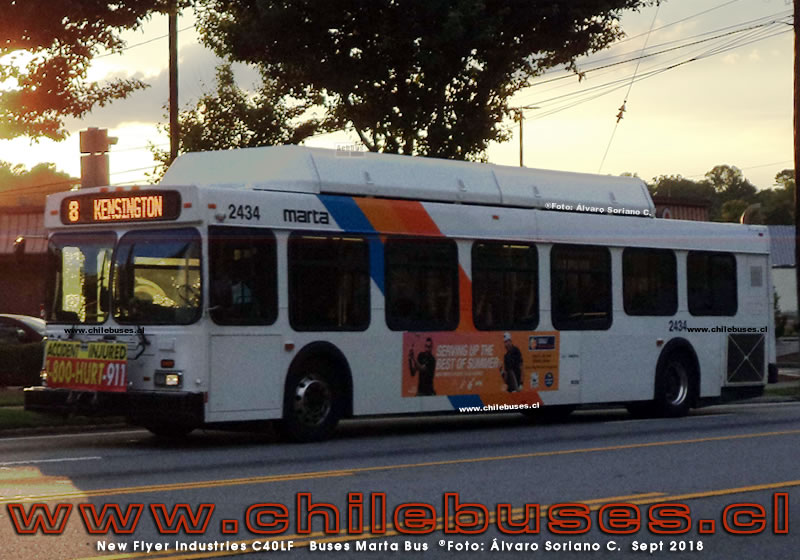 New Flyer Industries C40LF | Buses Marta Bus (Estados Unidos)