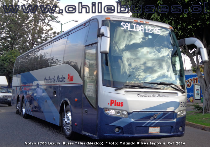 Volvo 9700 Luxury | Buses .Plus (México)