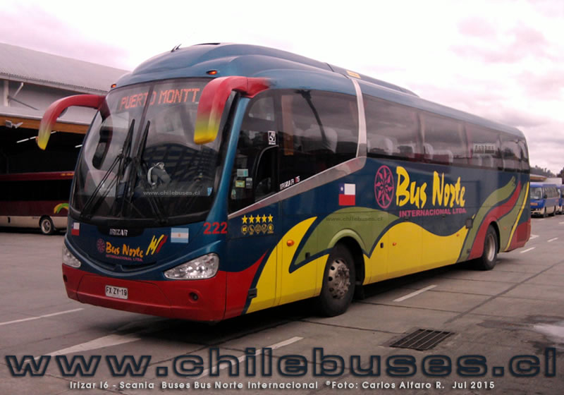 Irizar I6 - Scania | Buses Bus Norte Internacional