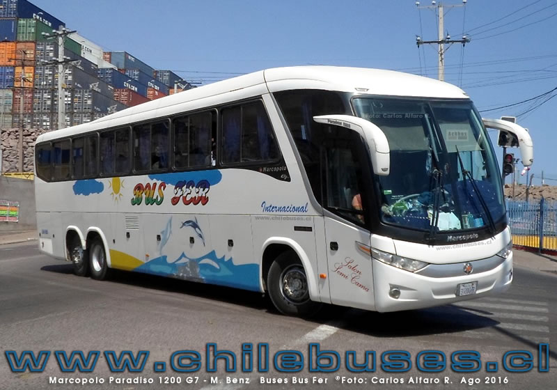Marcopolo Paradiso 1200 G7 - M. Benz | Buses Bus Fer