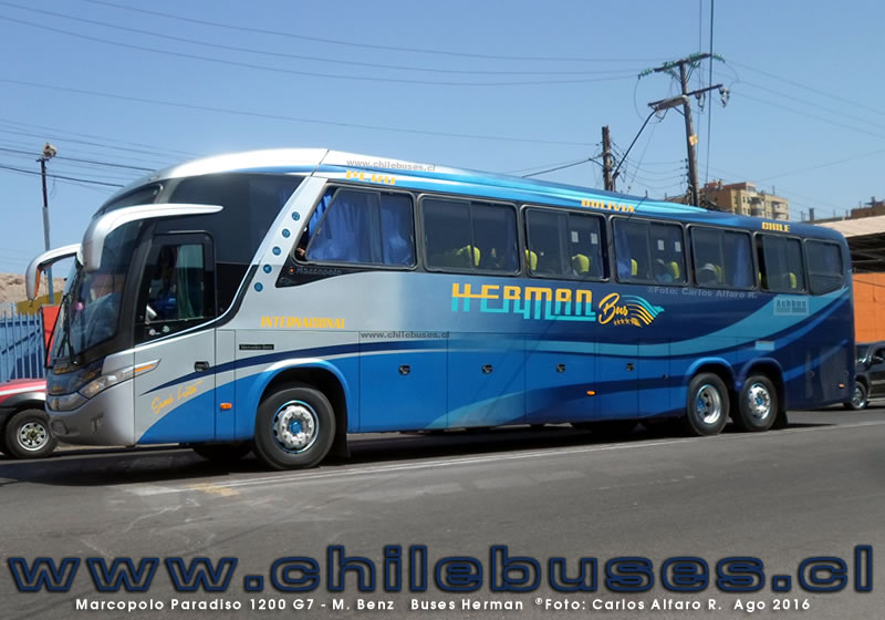 Marcopolo Paradiso 1200 G7 - M. Benz | Buses Herman