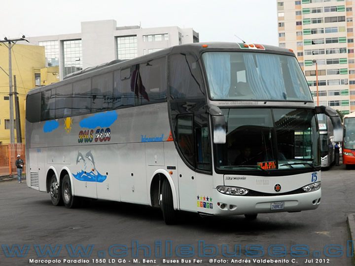 Marcopolo Paradiso 1550 LD G6 - M. Benz | Buses Bus Fer