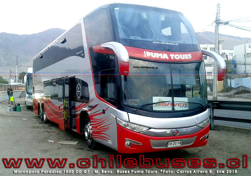 Marcopolo Paradiso 1800 DD G7 - M. Benz | Buses Puma Tours