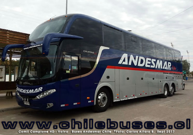 Comil Campione HD - Volvo | Buses Andesmar Chile