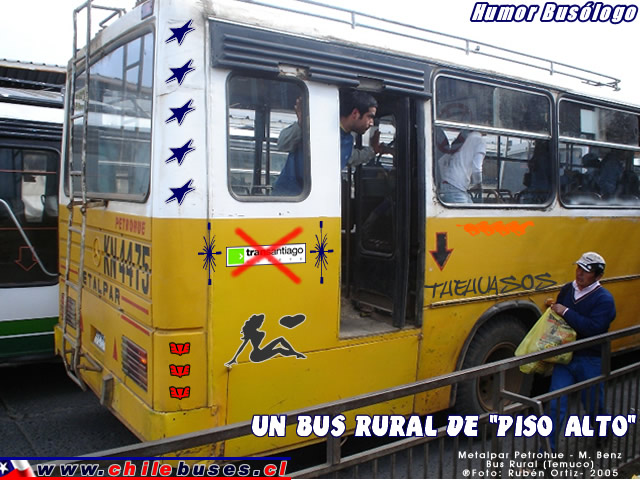 Un Bus Rural de *Piso Alto*...