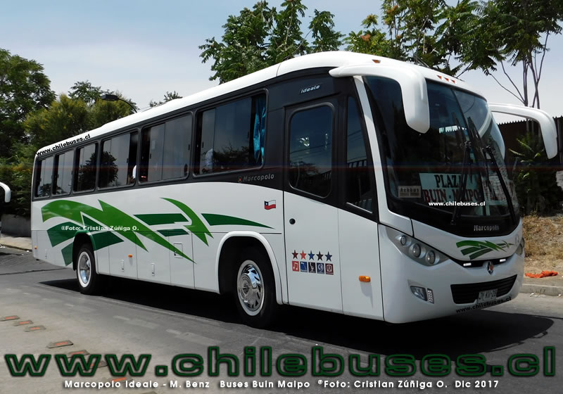 Marcopolo Ideale - M. Benz | Buses Buin Maipo (Region Metropolitana)