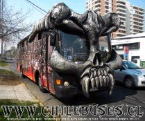 "Metalpar Petrohue - M. Benz | ""Paranoid Bus� de Black Sabbath en Chile"