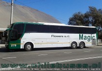 Marcopolo Paradiso 1200 G6 - M. Benz | Buses Flowers Magic (Uruguay)