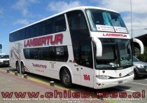 Marcopolo Paradiso 1800 DD G6 - Scania | Buses Lambertur (Argentina)