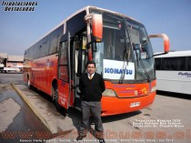 Conductor M�quina 2028 - Busscar Vissta Buss LO - Scania | Buses Pullman Bus Tandem