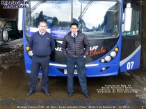 Tripulaci�n M�quinaa 07 - Metalsur Starbus 2 DP - M. Benz | Buses Andesmar Chile