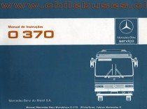 Manual Mercedes Benz Monobloco O - 370