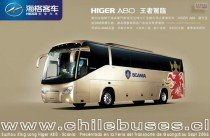 Suzhou King Long Higer A 80 - Scania  /  Presentado en Feria del Transporte Guangzhou Sept 2006 (China)