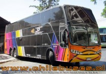 Busscar Panoramico DD - M. Benz | Buses Transportes JP