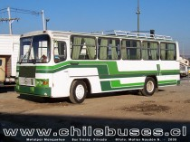 Metalpar Manquehue - M. Benz  Bus Transporte Privado (Stgo)