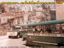 Cuatro Ases - Ford // Franklin - Ford  /  Linea Buses Verde Mar (Valpo)