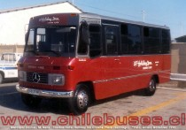 Metalpar Llaima M. Benz | Taxibus Hotel Holiday Inn Crowne Plaza Santiago 1990