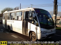 Marcopolo New Senior 2006 - M. Benz  /  Linea Urb-Rural 946 (Stgo)