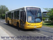Busscar Urbanuss Pluss Low Entry - M. Benz / Linea 668 (Santiago)
