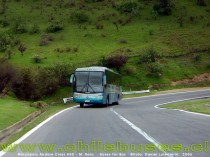 Cuesta Barriga  /  Marcopolo Andare Class 850 - M. Benz  /  Buses Tur Bus