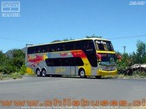 Ruta i50 - Busscar Panoramico DD - Scania | Buses Jet Sur