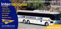 Folleto Buses Ahumada Internacional