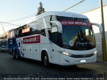 Marcopolo Paradiso 1200 G7 - M. Benz | Buses Pullman Bus Tandem - Bus Copa América Chile 2015