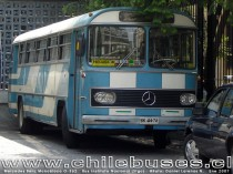 Mercedes Benz Monobloco O - 362  /  Bus Instituto Nacional (Stgo)