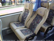 Asiento Yutong Intercity  /  Buses Pullman Bus