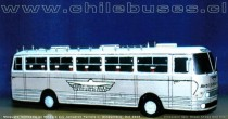 Maqueta de Madera Chausson Apu | Buses Andes Mar Bus