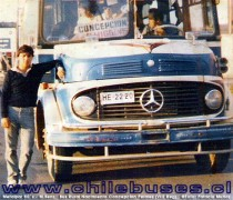 Metalpar 80`s - M. Benz  /  Bus Rural (VIII Reg)