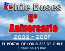 Chile Buses 5to Aniversario