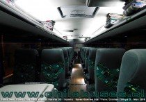 Salon Semi Cama (2do piso) Busscar Busstar DD - Scania | Buses Queilen Bus