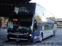 Busscar Panorâmico DD  - Volvo | Buses Andesmar (Argentina)