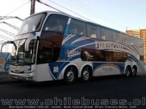 Marcopolo Paradiso 1800 DD - Scania | Buses Turiscoll (Brasil)