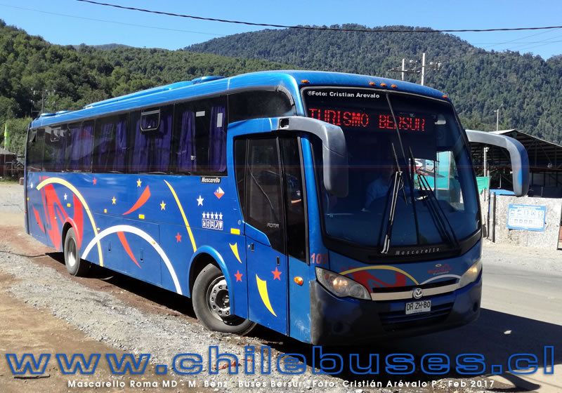 Mascarello Roma MD - M. Benz  |  Buses Bersur