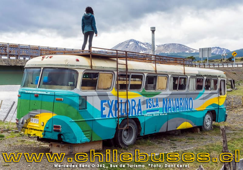 Mercedes Benz O-362 | Bus de Turismo (Puerto Williams)
