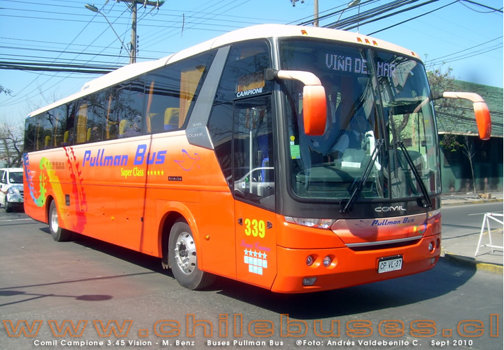 Comil Campione 3.45 Vision - M. Benz | Buses Pullman Bus