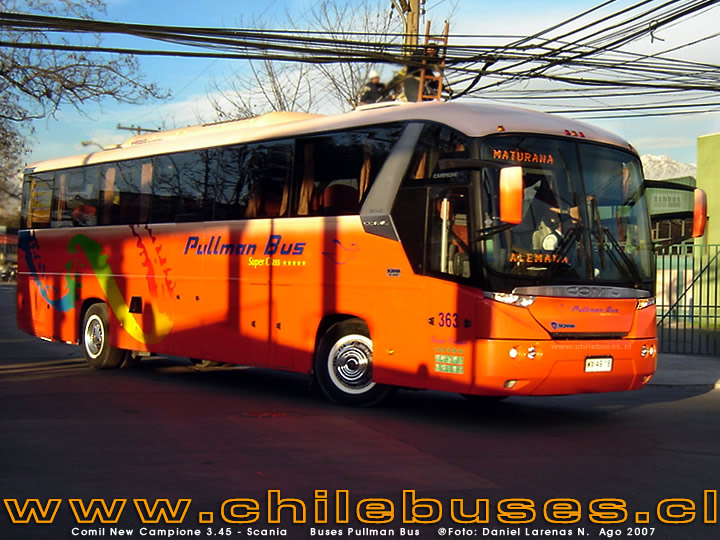 Comil New Campione 3.45 - Scania  /   Buses Pullman Bus